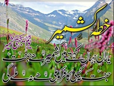 Kashmir Day 2018 Quotes