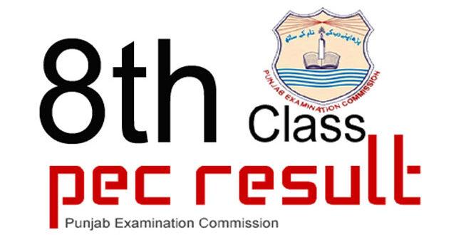 PEC Result 8th Class
