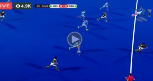 Pakistan vs India Hockey Match Live