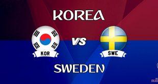 Sweden vs South Korea Live