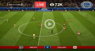 Sweden vs England Football Live