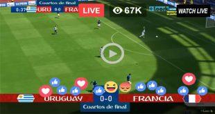 Uruguay vs France Live Football