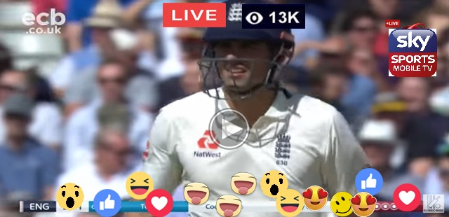 ENG Test Batting Cook