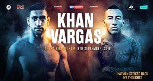 Amir Khan vs Samuel Vargas