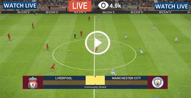 Liverpool vs Manchester City Live Football | Premier ...