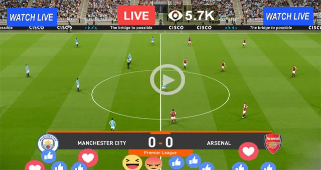 Arsenal vs Manchester City – Live Streaming