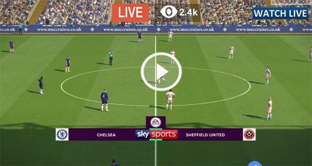Live Football - Sheffield United vs Chelsea - Live ...