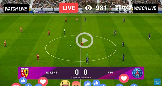 PSG vs Lens Live