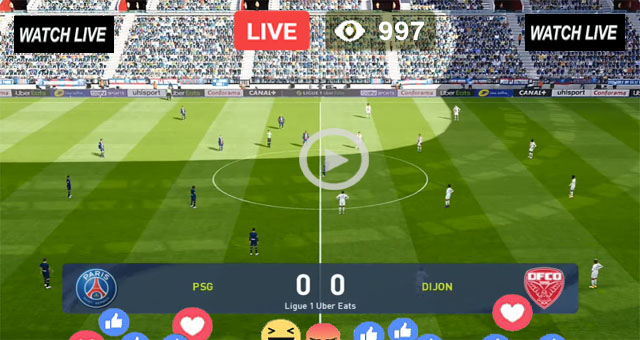 PSG vs Dijon Live Stream