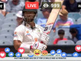 Live Cricket – Australia vs India Live Streaming | Sony Six Live | AUS vs IND 2nd Test Day 3 Today Match Live Online