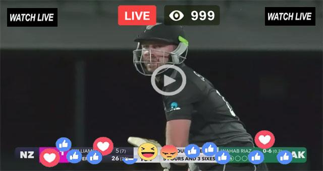 NZ vs AUS 1st T20 Sony Six Live