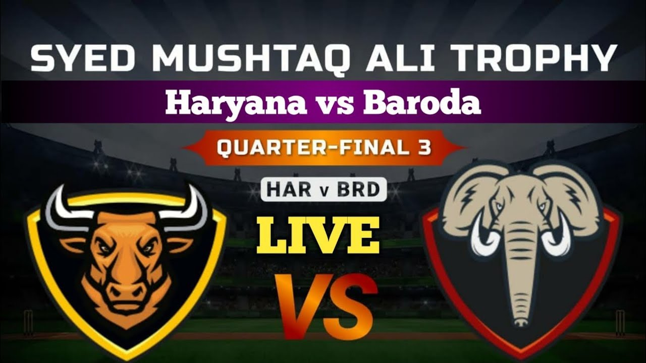 Haryana vs Baroda, 3rd Quarter Final