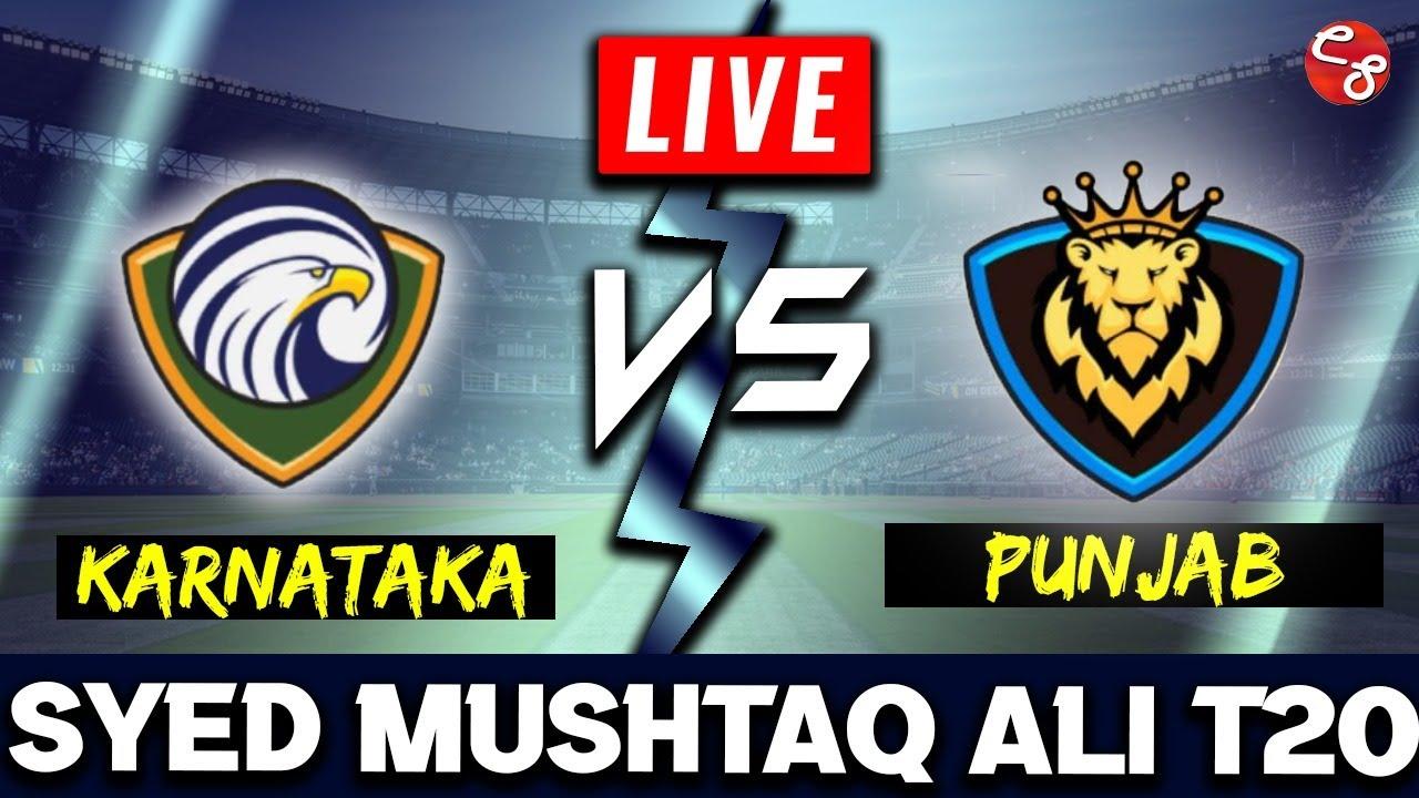 Karnataka vs Punjab, 1st Quarter Final