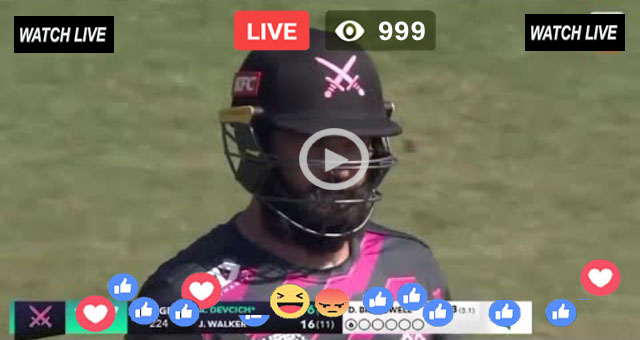 CAN vs NK 16th T20 Sony Six Live