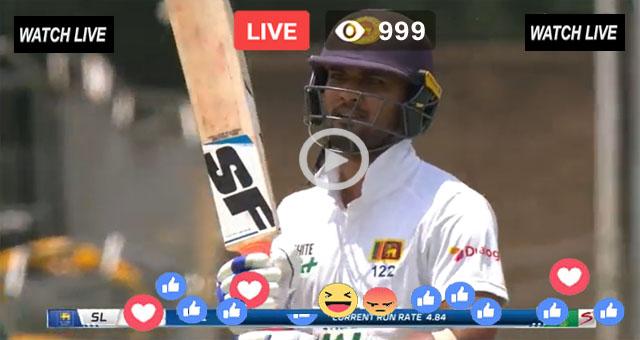 SL vs ENG 2nd Test Day 1 Super Sports Live
