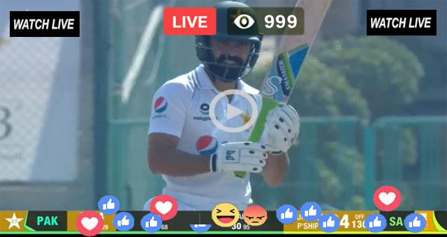 PAK vs SA 2nd Test Day 1 Super Sport Live