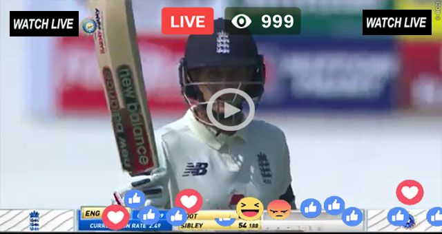 ENG vs IND 2nd Test Day 4 Sky Sports Live