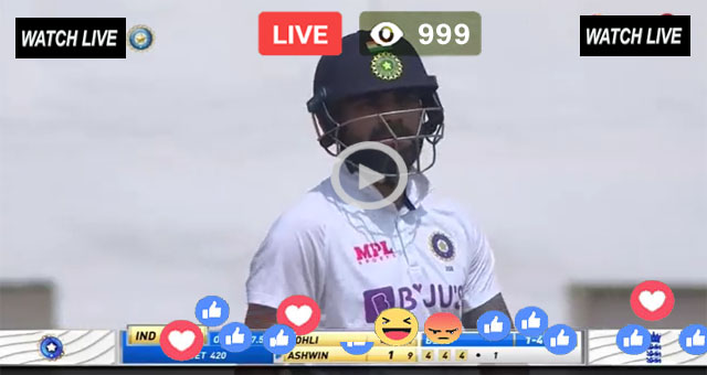 IND vs ENG 1st Test Day 5 Zee Sports Live