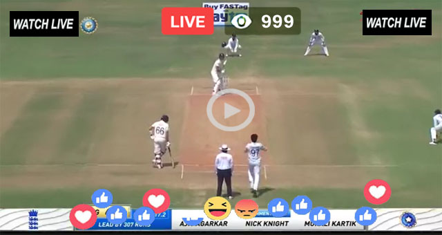 IND vs ENG 1st Test Day 4 Sky Sports Live