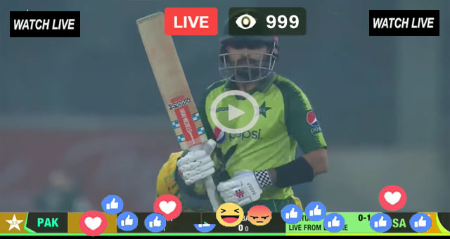Pakistan vs South Africa 2nd T20 Super Sport Live