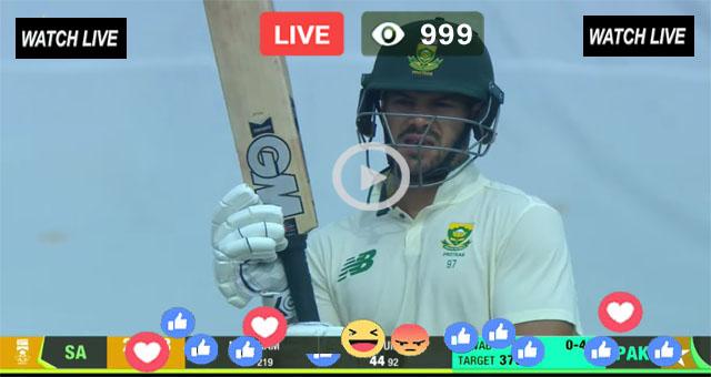 PAK vs SA 2nd Test Day 5 Super Sport Live