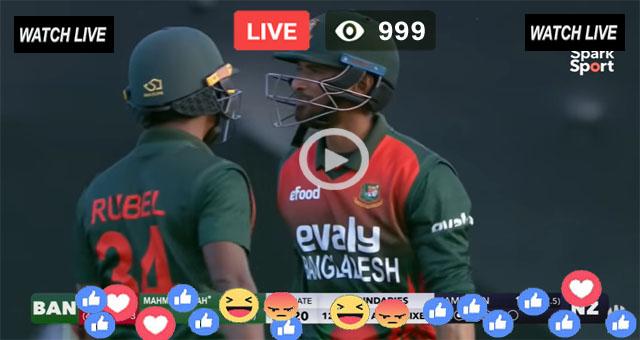 BAN vs NZ 1st T20 Sky Sports Live