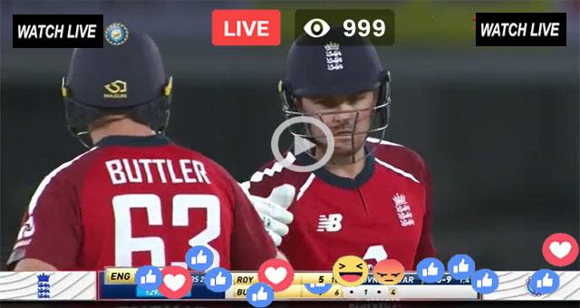 ENG v IND 3rd T20 Sky Sports Live