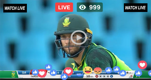 South Africa vs Pakistan 3rd ODI PTV Sports Live