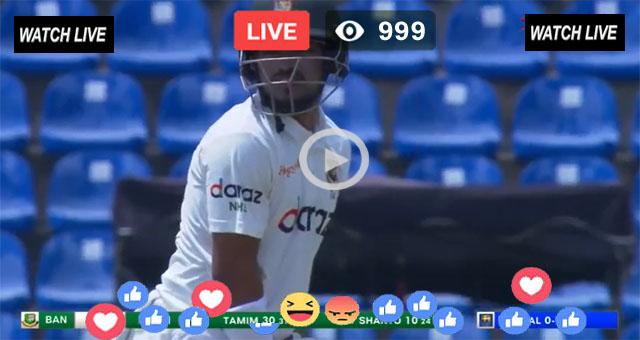 Bangladesh vs Sri Lanka 1st Test Day 1 T Sports Live