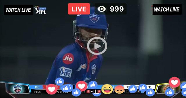 Delhi Capitals vs Chennai Super Kings 2nd T20 - IPL 2021 Live
