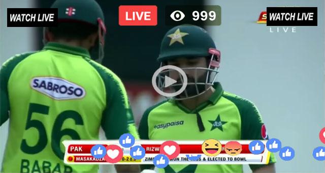 Pakistan vs Zimbabwe 2nd T20 PTV Sports Live