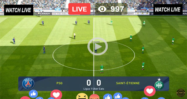PSG vs St Etienne - Live Football
