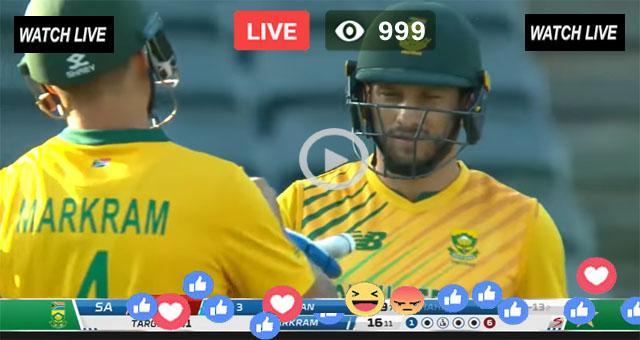 South Africa vs Pakistan 3rd T20 PTV Sports Live