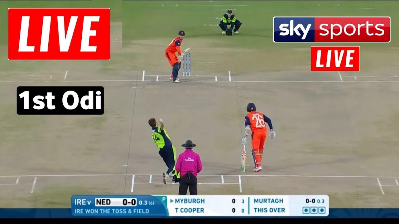 Netherlands vs Ireland 1st ODI Sky Sports Live